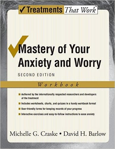 Generalized Anxiety Disorder Book